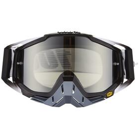 100% Racecraft Goggle abyss black/mirror silver anti fog